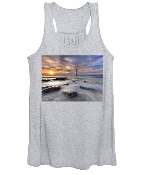 Talacre Lighthouse  Women's Tank Top