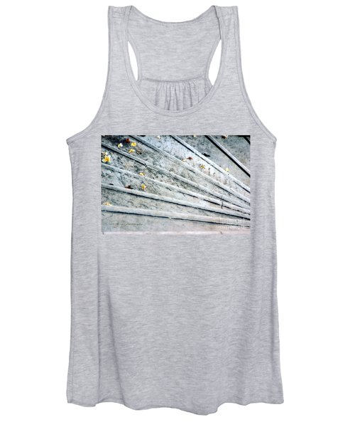 The Marble Steps Of Life Women's Tank Top