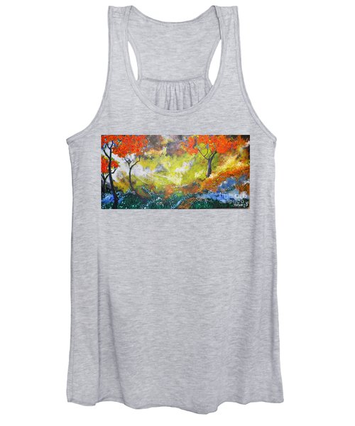 Through The Myst Women's Tank Top