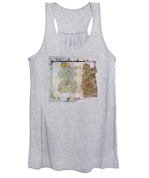 Throwing Stones At My World Women's Tank Top