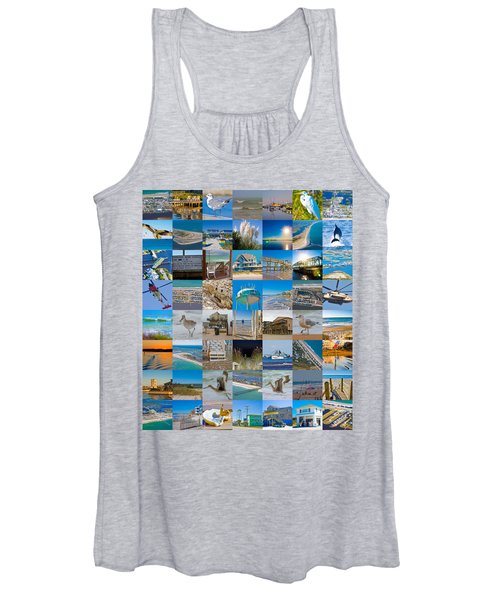 Topsail Visual Contemporary Quilt Series I Women's Tank Top