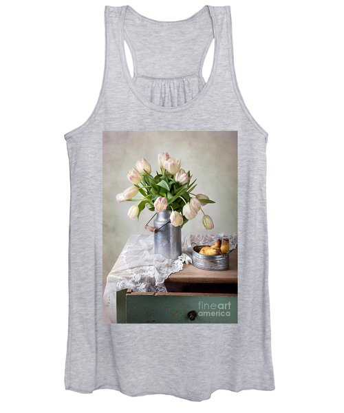 Tulips And Pears Women's Tank Top
