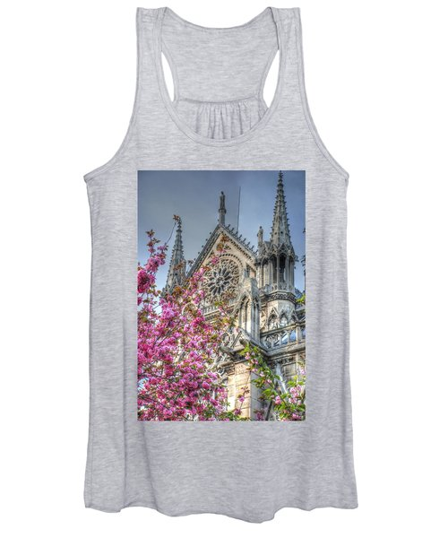 Vibrant Cathedral Women's Tank Top