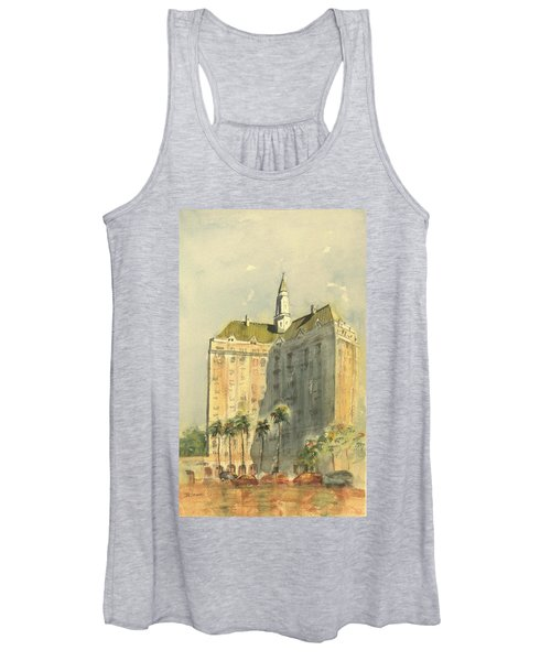 Villa Riviera Another View Women's Tank Top
