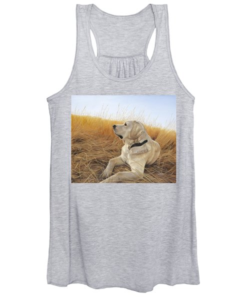Waiting For The Birds Women's Tank Top