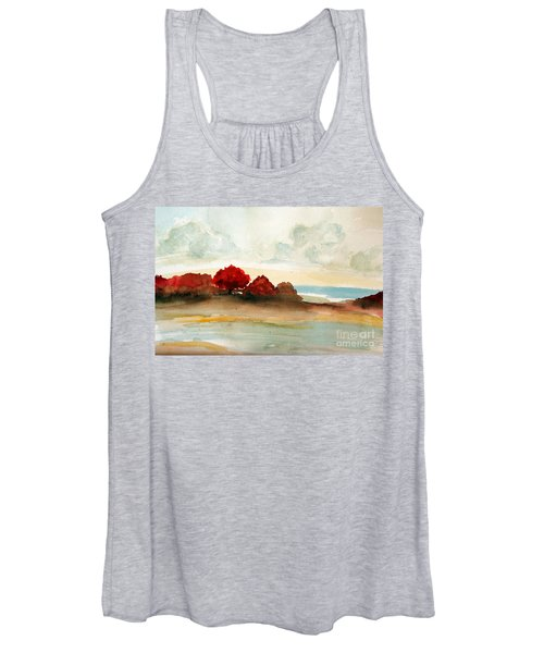Watercolor Bay Women's Tank Top