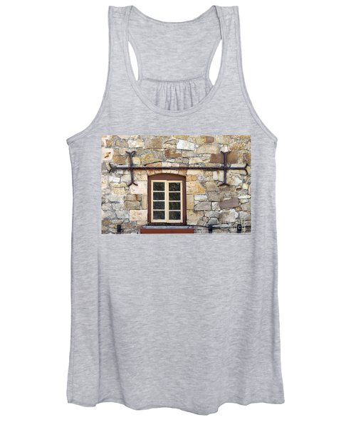 Window Into The Past Women's Tank Top