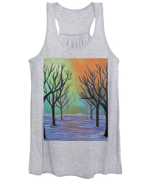 Winter Solitude 11 Women's Tank Top