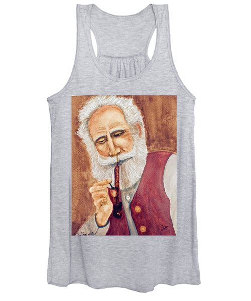 German With Pipe No. 2 Women's Tank Top