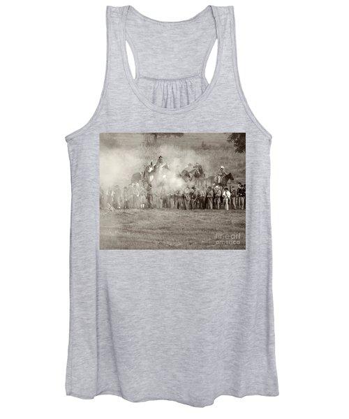 Gettysburg Confederate Infantry 7503s Women's Tank Top