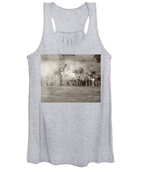 Gettysburg Confederate Infantry 7503s Women's Tank Top