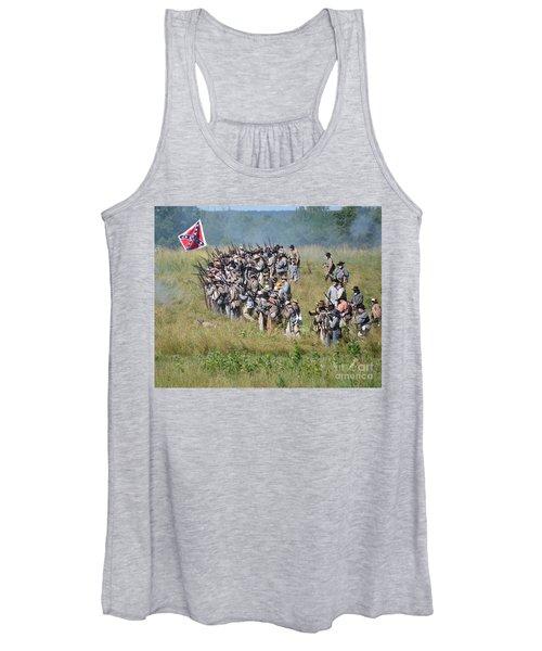 Gettysburg Confederate Infantry 9015c Women's Tank Top