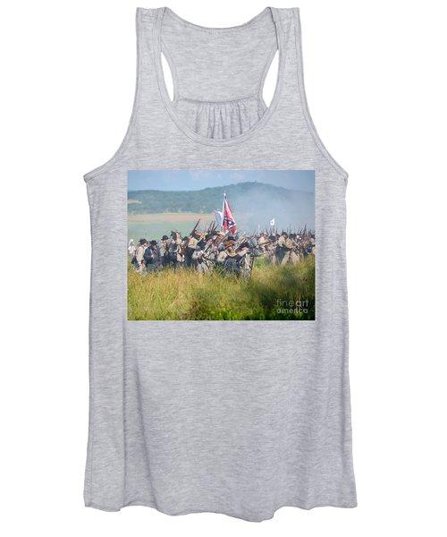 Gettysburg Confederate Infantry 9214c Women's Tank Top