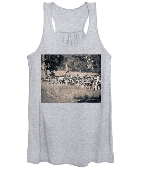 Gettysburg Confederate Infantry 9270s Women's Tank Top