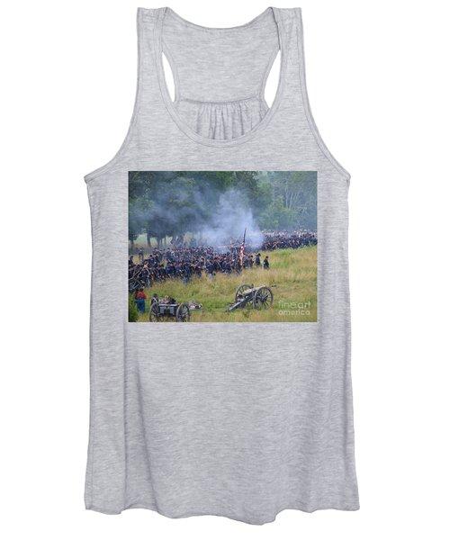 Gettysburg Union Artillery And Infantry 8456c Women's Tank Top