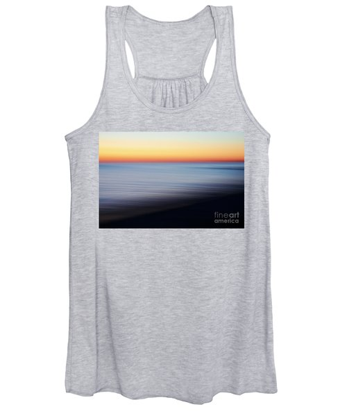 Abstract Sky And Water Women's Tank Top