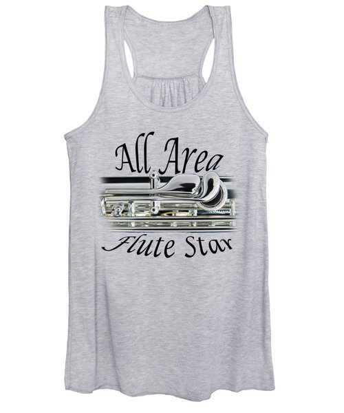 All Area Flute Star  Women's Tank Top
