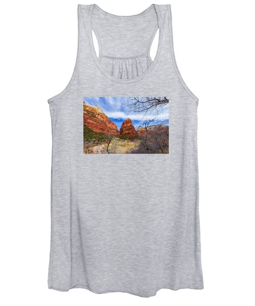 Angels Landing Women's Tank Top