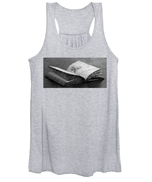Antique Notebook Women's Tank Top