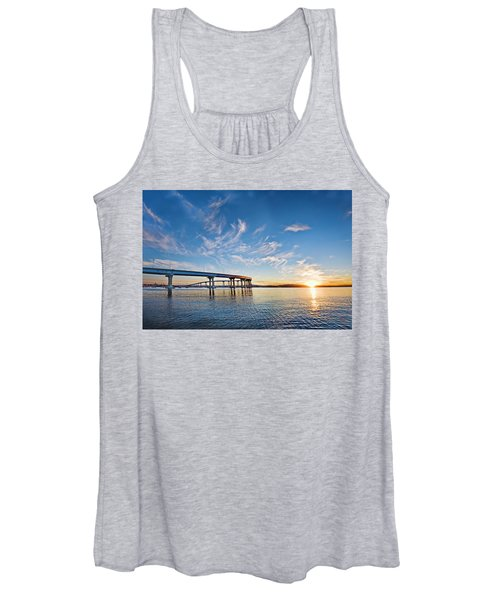 Bridge Sunrise Women's Tank Top