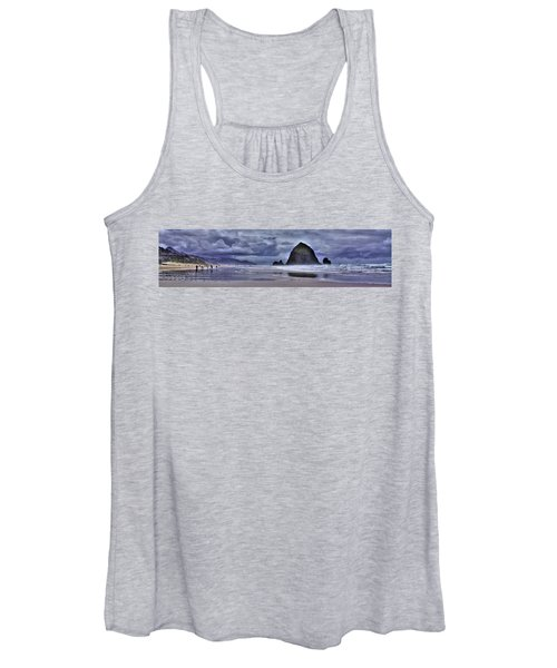 Cannon Beach Panorama Women's Tank Top