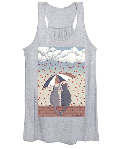 Cats In Love Women's Tank Top