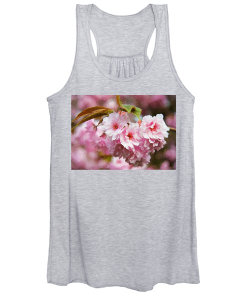 Cherry Blossom Women's Tank Top