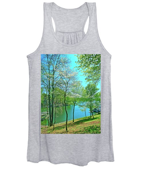Cluster Of Dowood Trees Women's Tank Top
