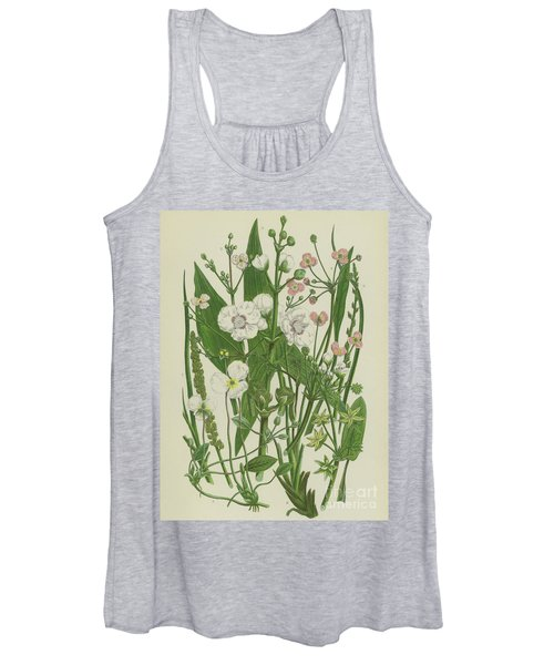 Common Star Fruit, Greater Water Plantain And Other Plants Women's Tank Top