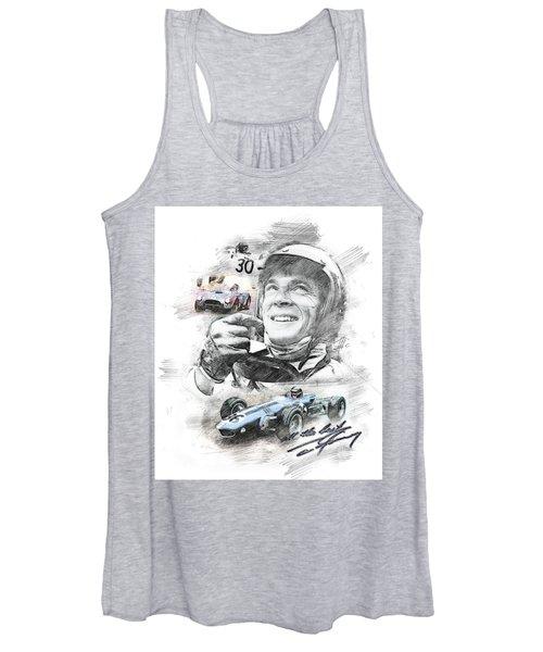 Dan Gurney Women's Tank Top
