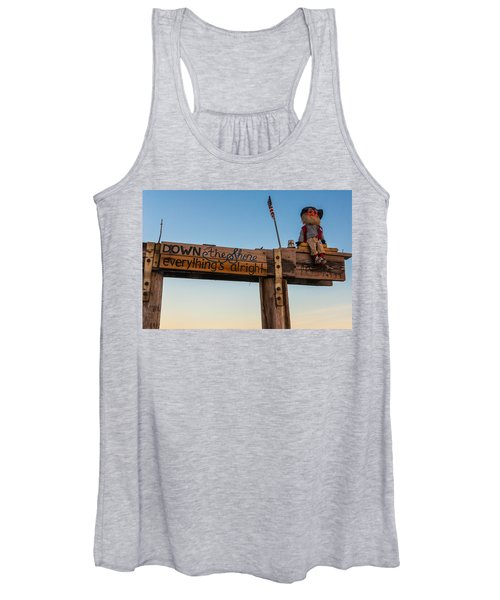 Down The Shore Women's Tank Top
