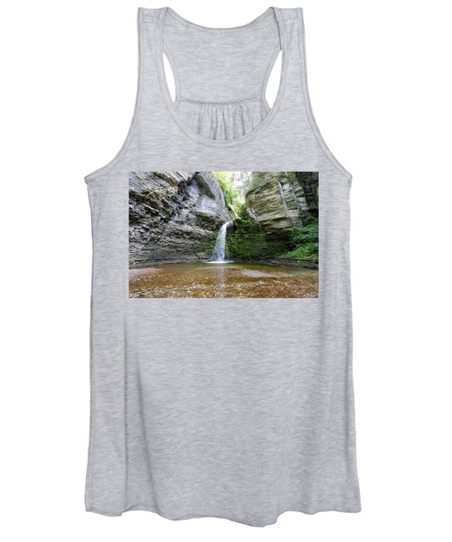 Eagle Cliff Falls In Ny Women's Tank Top