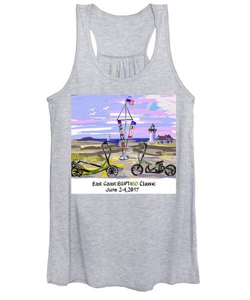East Coast Elliptigo Classic Women's Tank Top
