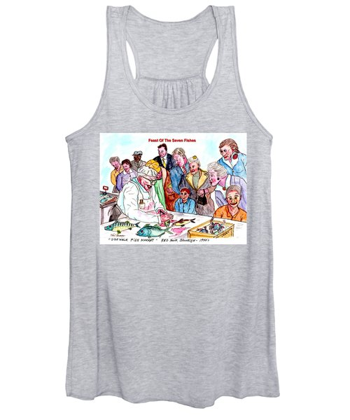 Feast Of The Seven Fishes Women's Tank Top