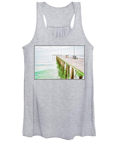 Fishing Pier, Margate, New Jersey Women's Tank Top