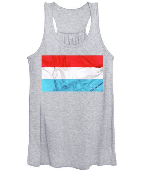 Flag Of Luxembourg Women's Tank Top
