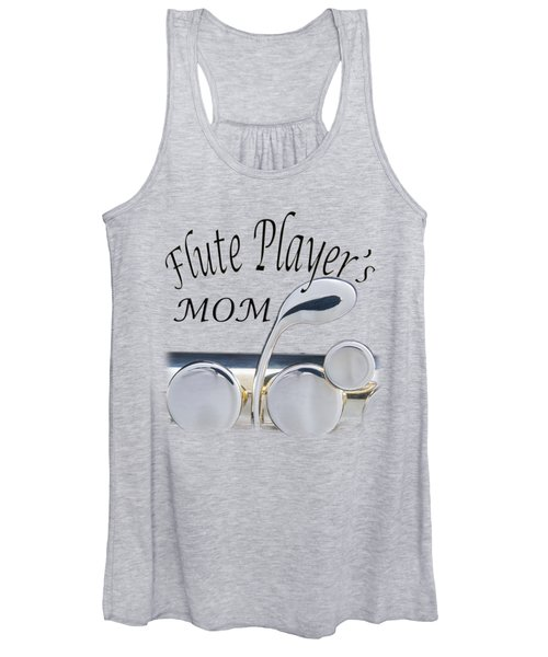 Flute Players Mom Women's Tank Top