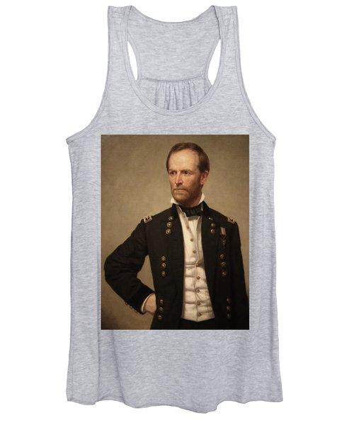 General William Tecumseh Sherman Women's Tank Top