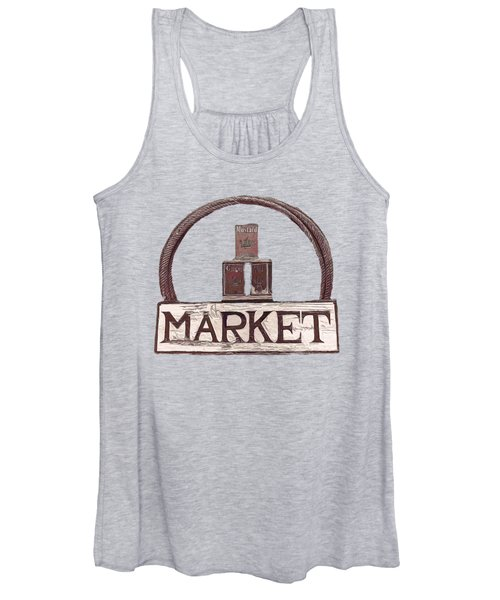 Going To The Market Women's Tank Top