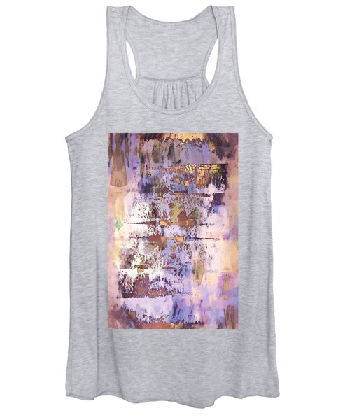 Grungy Abstract  Women's Tank Top