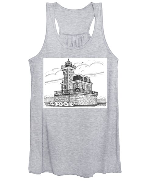 Hudson-athens Lighthouse Women's Tank Top