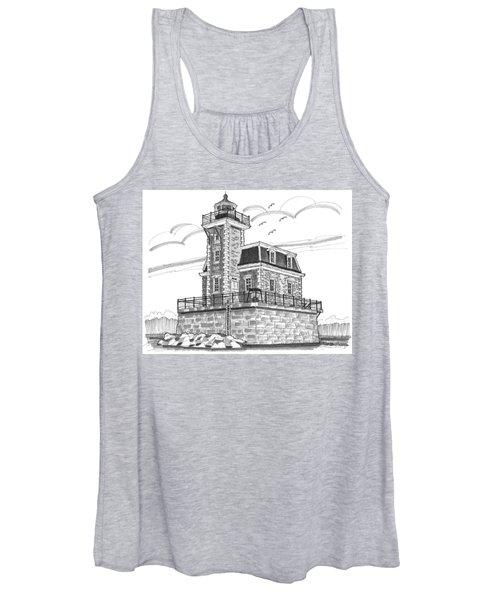 Hudson-athens Lighthouse Women's Tank Top