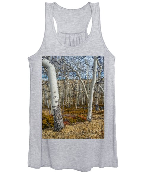 Into The Trees Women's Tank Top
