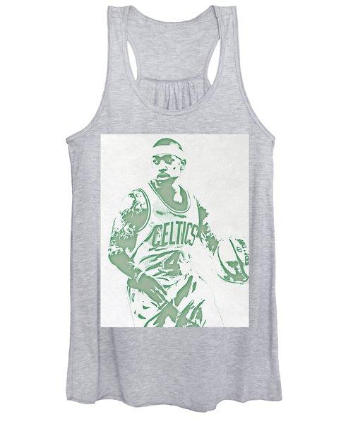 Isaiah Thomas Boston Celtics Pixel Art Women's Tank Top