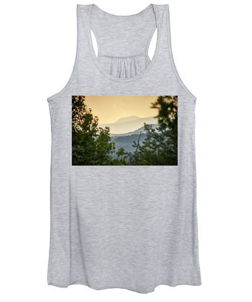 Mountains In The Distance Women's Tank Top