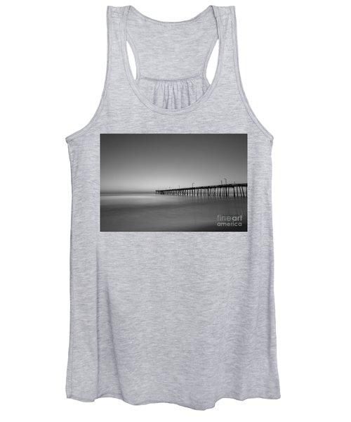 Nags Head Fishing Pier Sunrise Women's Tank Top