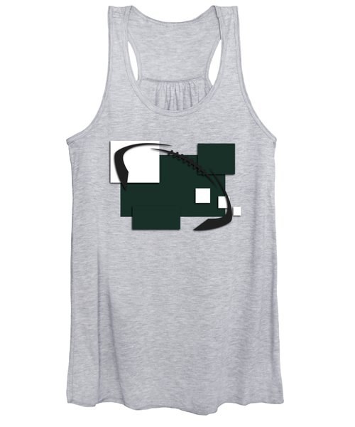 New York Jets Abstract Shirt Women's Tank Top