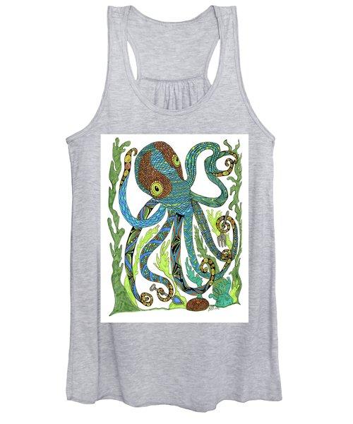 Octopus' Garden Women's Tank Top