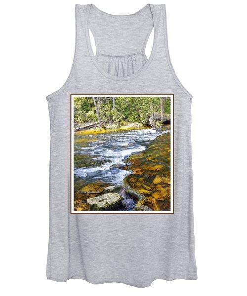 Pennsylvania Mountain Stream Women's Tank Top