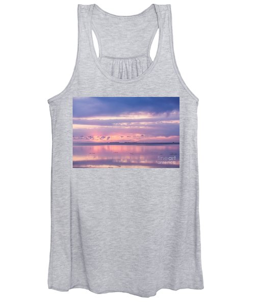 Reflections At Sunset In Key Largo Women's Tank Top